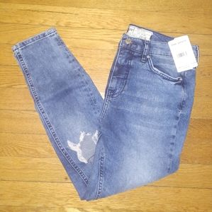 Free People ripped jeans NWT